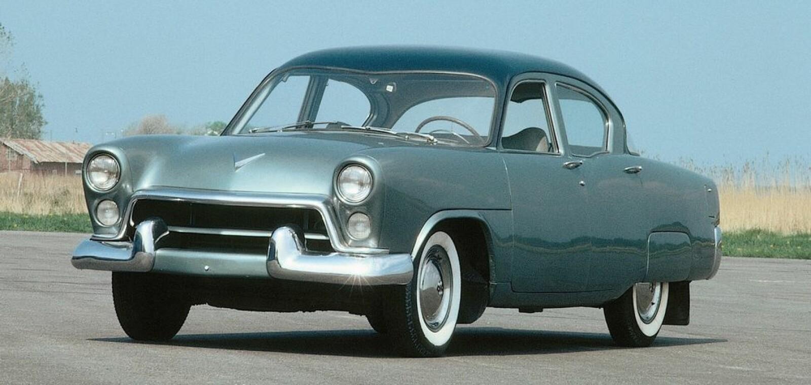 <b><SPAN CLASS=BOLD><STRONG>VOLVO PHILIP:</b></strong> </span>Bilen ble laget for å passe det amerikanske markedet og hadde en V8-motor. En motor som senere ble brukt i en lastebil.