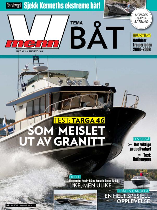 <b>VI MENN BÅT:</b> Nytt Vi Menn Båt er straks abonnentene.