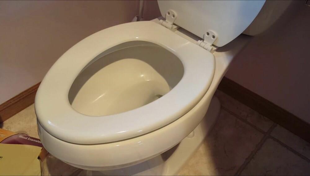<b>RENT:</b> Toalettsetet skal være renere enn mobiltelefonen din.