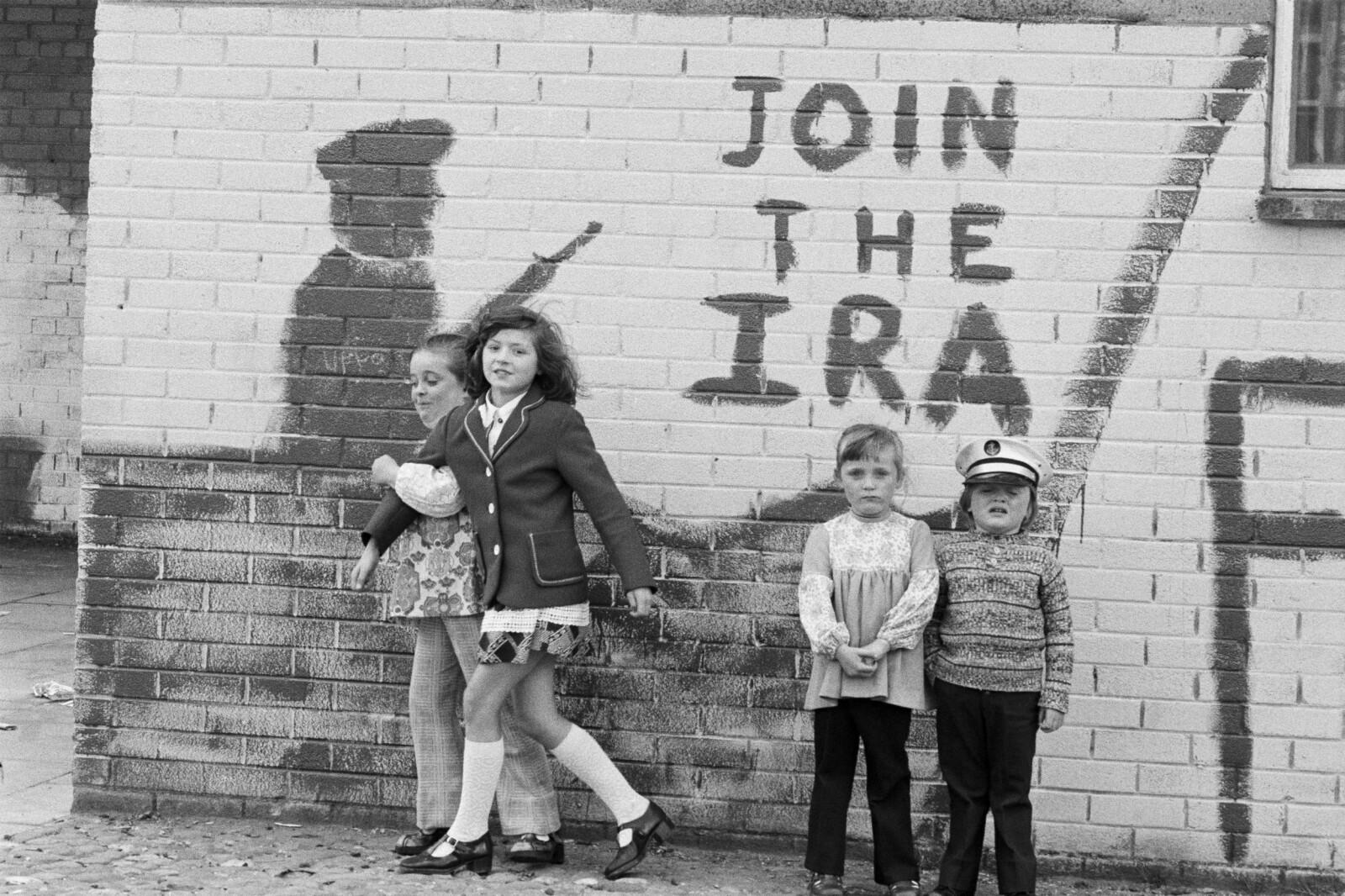 <b><SPAN CLASS=BOLD><STRONG>KATOLSK BASTION:</b></strong> </span>Bogside var et katolsk arbeiderstrøk i Derry/Londonderry.