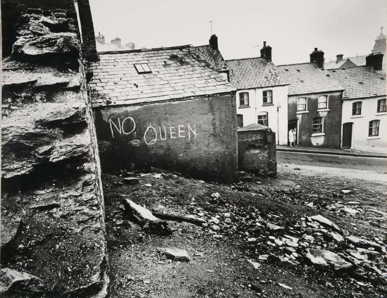 <b><SPAN CLASS=BOLD><STRONG>INGEN DRONNING HER:</b></strong></span> Bogside-opprøret spredte seg og regnes som starten på den 30 år lange perioden omtalt som «The Troubles».