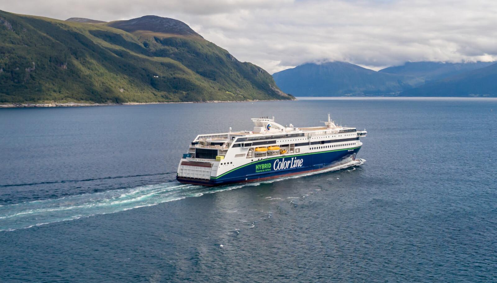 """<b>SANDEFJORD-STRØMSTAD:</b> 16.august settes """"Color Hybrid"""" inn på ruten mellom Sandefjord og Strømstad."""