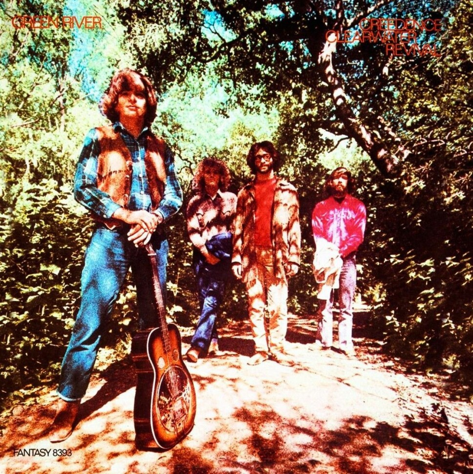 """""""Green River"""", Creedence Clearwater Revival (august)."""