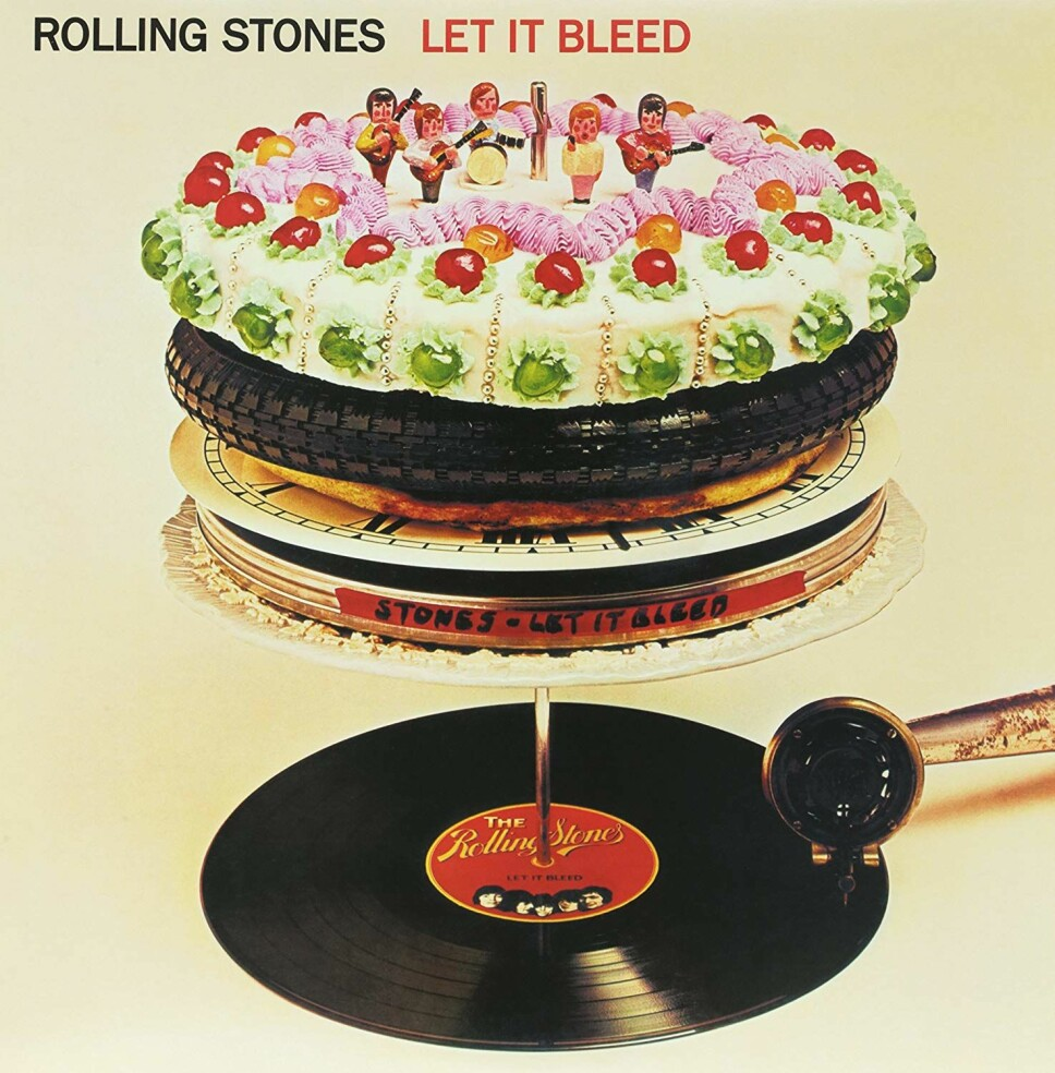 """""""Let it Bleed"""", The Rolling Stones (desember)."""
