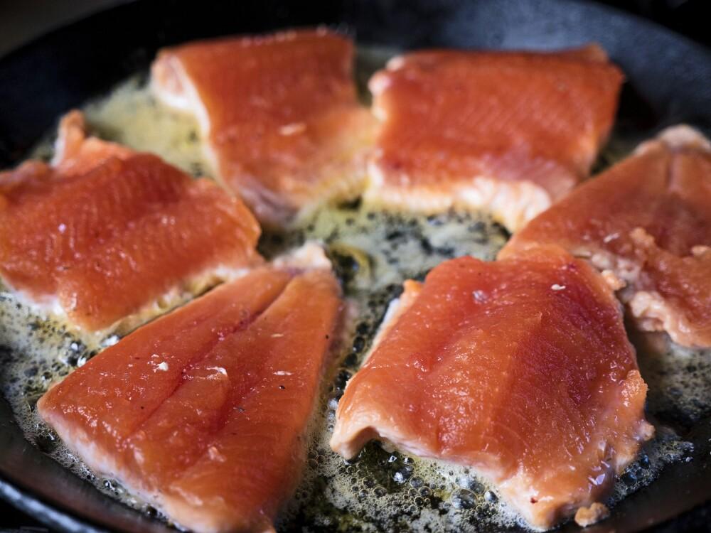 <b>STEIKEFISK: </b>Om ei panne fisk til middag er hovedmålet, bør du fiske andre steder enn om<br>du jakter på storfisk.