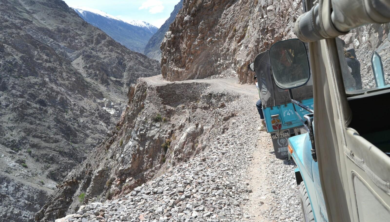 <b>AVSTIKKER: </b>Kjører du Karakoram Highway, kan du også legge en svipptur innom Fairy Meadows Road i Pakistan.