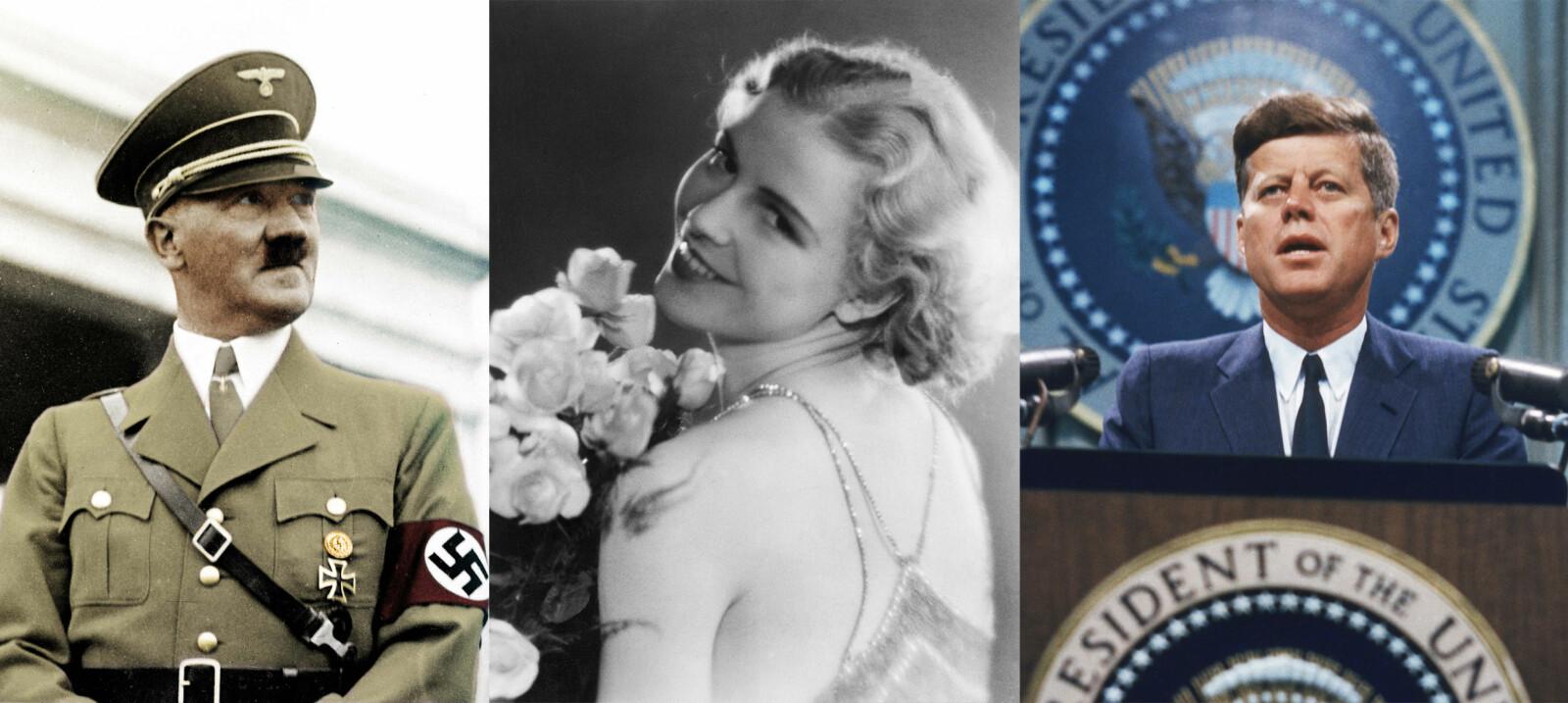 <b><SPAN CLASS=BOLD>FORFØRT:</b></span> Inga Arvad kom i kontakt med maktmennesker gjennom sin journalistjobb. Først falt Adolf Hitler pladask. Deretter John F. Kennedy.