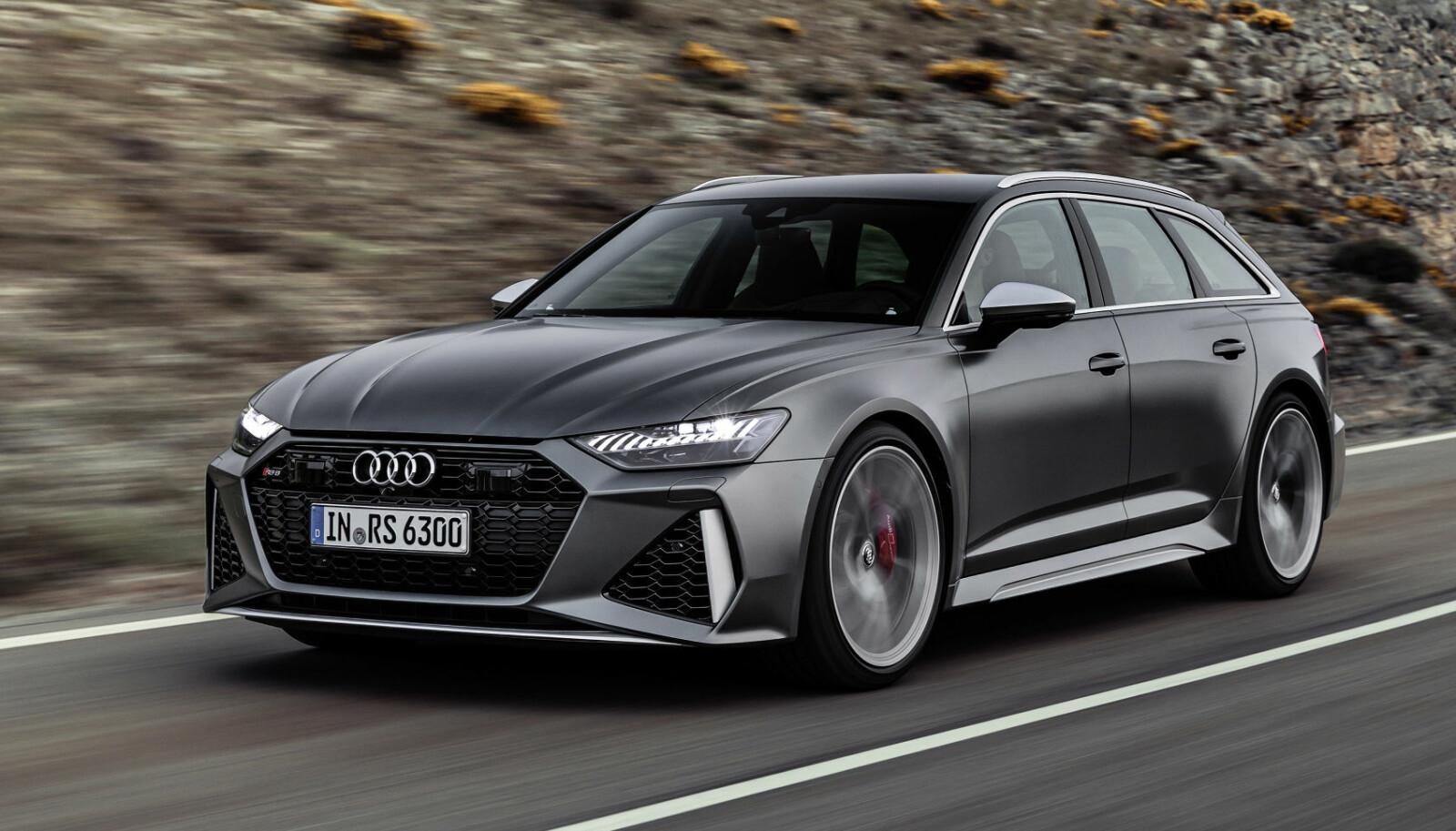 <b>2019: </b>Audi RS6 Avant er ventet på markedet senere i år.