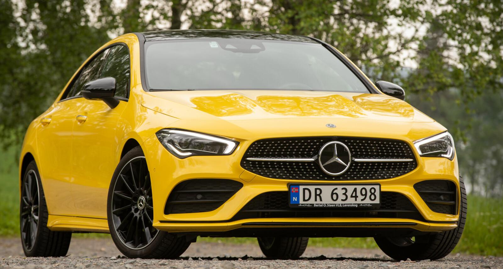 <b>EN ANNEN SKÅL: </b>Den nye Mercedes-Benz CLA ser vesentlig barskere ut enn forgjengeren.