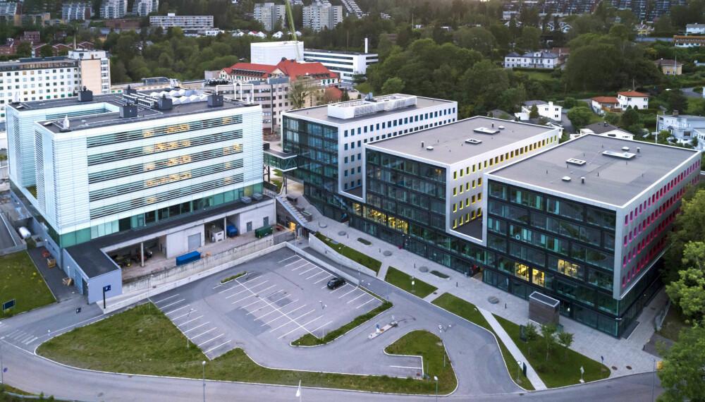 <b>I FRONT: </b>Oslo Cancer Cluster Innovation Park rommer mye av det som skjer innen norsk og internasjonal kreftforskning. Et sentralt element i dette økosystemet er selskapet Radforsk, som både investerer og bidrar med kunnskapsressurser.