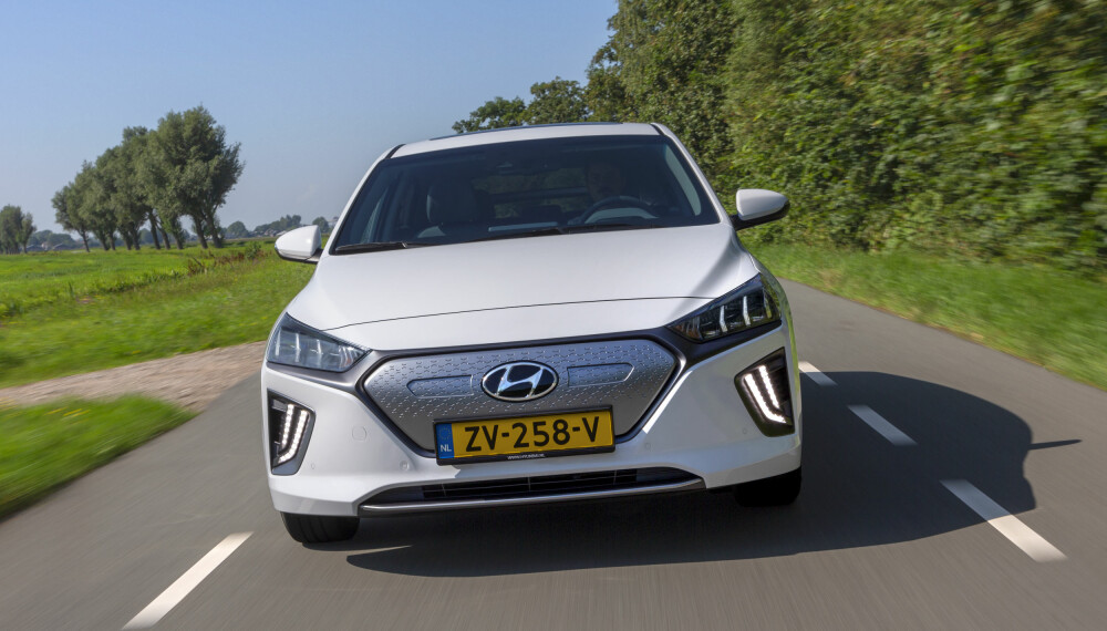 KOMMER I OKTOBER: Hyundai har fornyet Ioniq electric. Prisene starter på 282 900 kroner