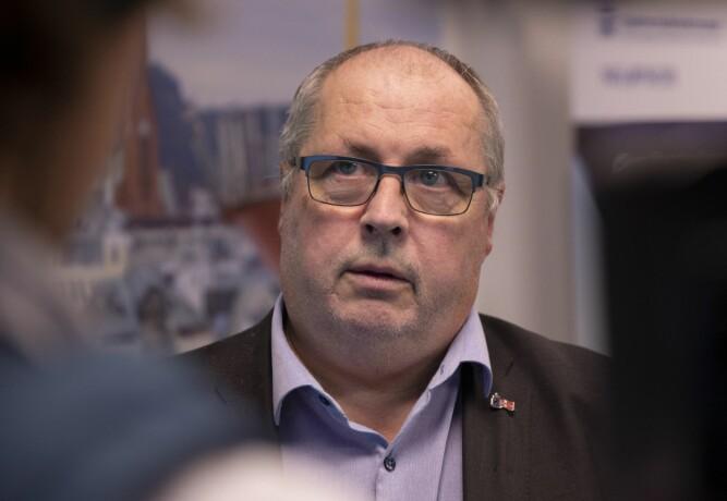 <b><SPAN CLASS=BOLD>SJEF:</b></span> Fungerende sjøfartsdirektør Lars Alvestad ga pålegg til Viking Cruises om å sikre nok smøreolje på skipene.