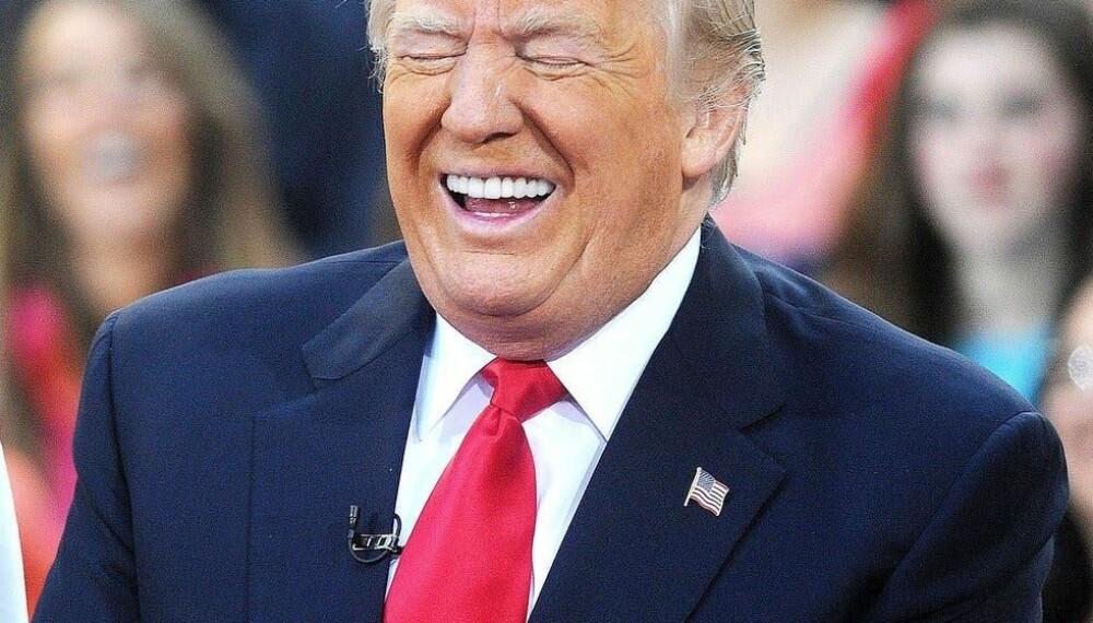 <b>HVOR ER VARMEN:</b> Trump vil gjerne ha det varmere i verden.