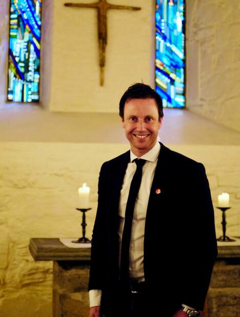 <b><SPAN CLASS=BOLD>LOKALPOLITIKER FOR AP</SPAN>:</b> Gard Sandaker-Nielsen leder Åpen folkekirke, som har 600 medlemmer og fikk nesten 300,000 stemmer ved forrige kirkevalg.