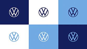 NY: VW har også fått ny logo som skal være mer feminin, ifølge selskapet selv.