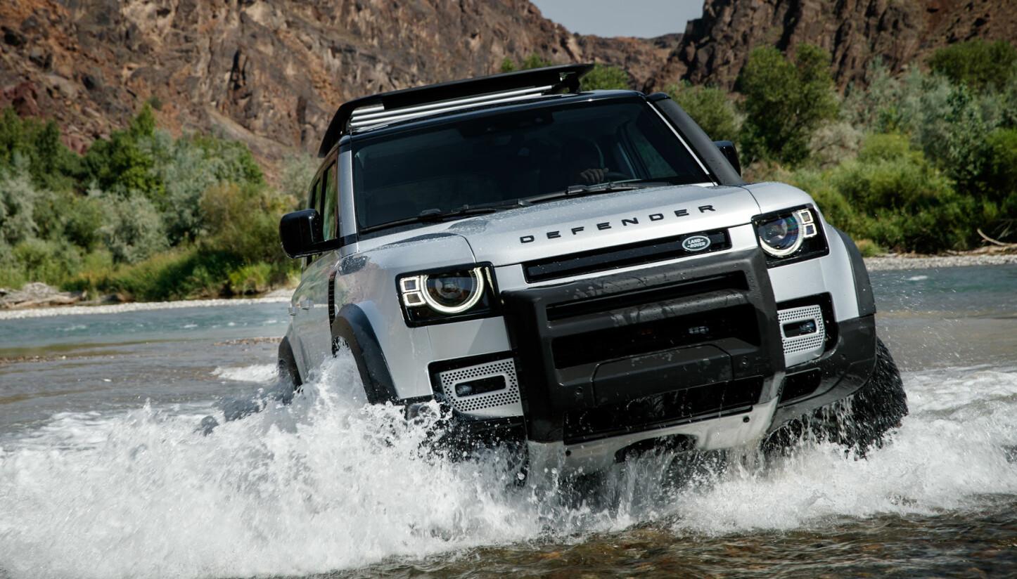 NY: Land Rover Defender.
