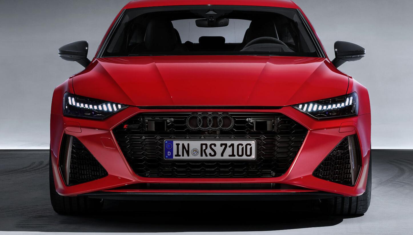 BRED: Bredden er ingen illusjon: Hjulhusene er 40 millimeter videre på hver side sammenlignet med Audi A7 Sportback